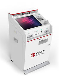Self Service Banking Kiosk With Cash Dispenser Support Wireless And LAN Access